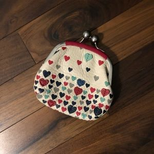 SALE Adorable Fossil Coin Purse